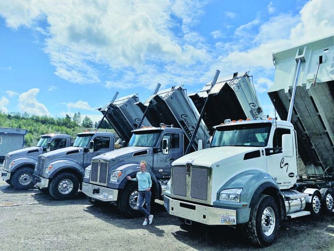 With four Kenworth T880s Super Solos (and two more on the way), the company has a single mission: to pro-vide high-quality services in a timely manner with a team that caters to each project's specific needs to ensure excellence. - Photo: Kenworth