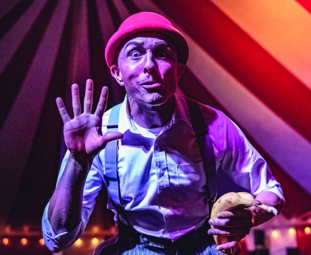 Graduating from Clown College in 1997, Kirk Marsh is a performing artist who currently owns and operates Circus Kirkus. - Photo: Kirk Marsh