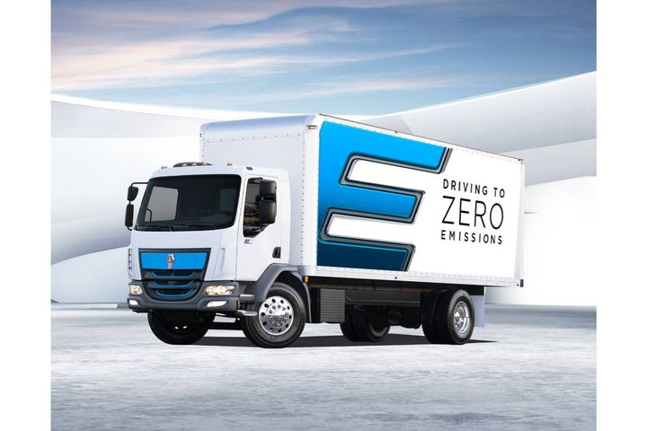 Kenworth K270E Class 6 and K370E Class 7 battery-electric vehicles - Photo: Kenworth
