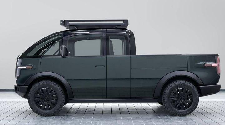 Canoo's electric pickup truck - Photo: Canoo