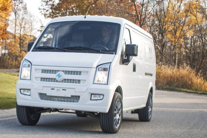 Electric Last Mile Solutions (ELMS) Class 1 Urban Delivery van - Photo: Electric Last Mile Solutions
