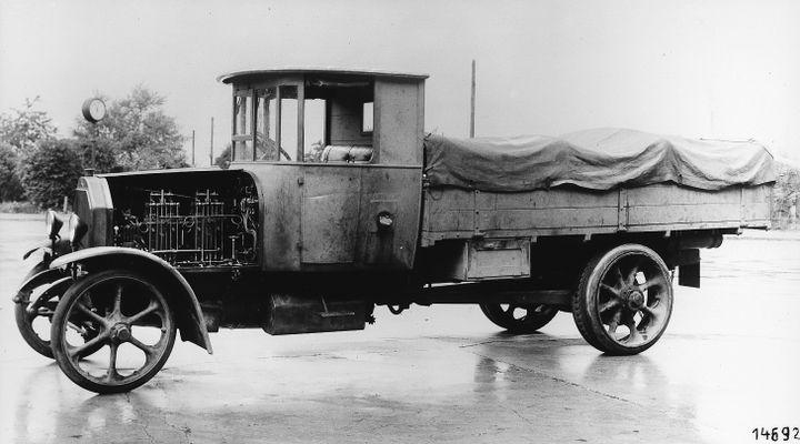 First Diesel Truck Benz Type 5K3 - Photo:Daimler Truck AG