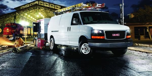 Vans like the 2022 GMC Savana have cargo space that can be secured to keep valuables safe from...