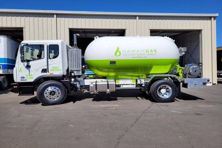 The company currently runs a fleet of 240 trucks. - Photo: Hawaii Gas