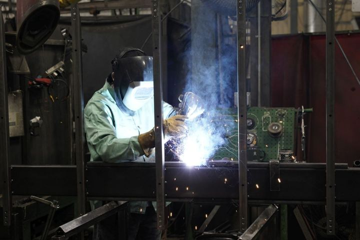 Welding of the units is done in-house. - Photo: Jason Blackman, Keith Manufacturing Co.