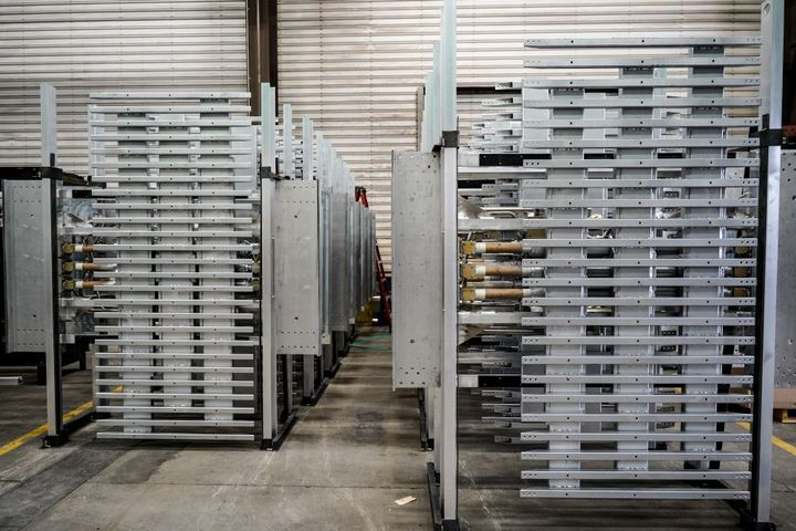 Final, completeddrives wait for shipment. - Photo: Jason Blackman, Keith Manufacturing Co.