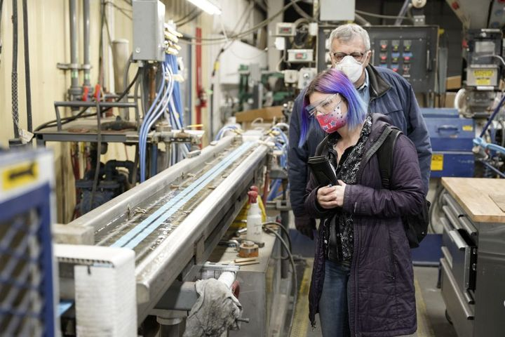The process starts with seal extrusion. - Photo: Jason Blackman, Keith Manufacturing Co.