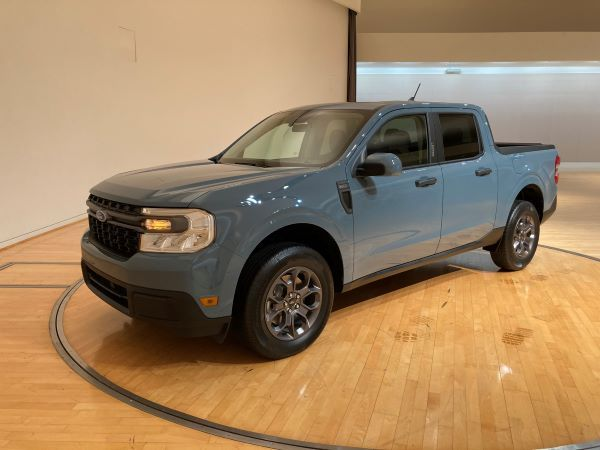Ford brought a display model to its Irvine, California offices to allow journalists to photograph, crawl through, and ask questions. Driving impressions will have to wait until the fall. - Photo by Chris Brown.