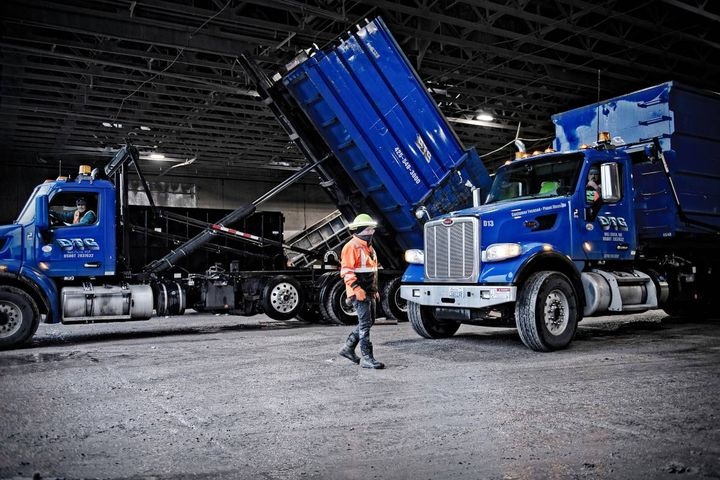 Having a mixed-match fleet of trucks that were all different specs caused problems for maintenance and dispatch, so the company has standardized its fleet. - Photo: DTG