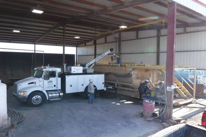 KRP Trucking supplies rental equipment for surface operations of oil and gas drilling sites and also transports equipment from one hole to the next when working on rigs. - Photo: KRP Trucking