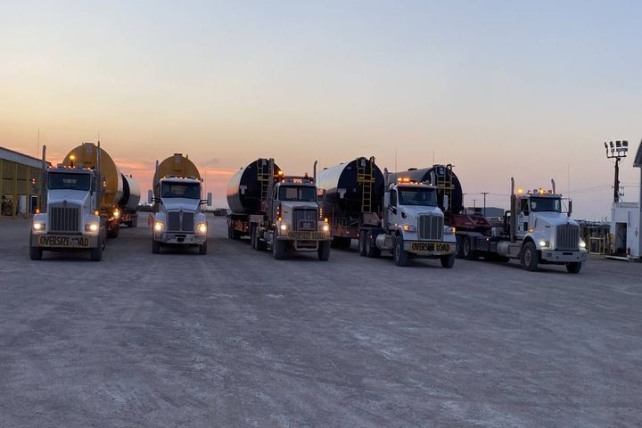 KRP is actively ensuring its trucks are being driven safely. - Photo: KRP Trucking
