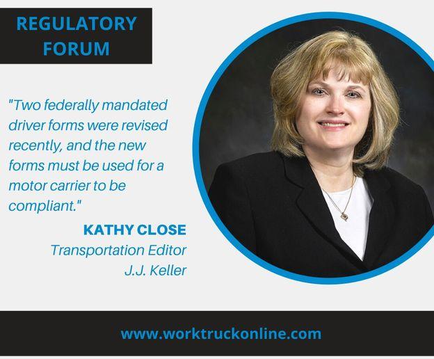 Kathy Close, Transportation Editor for J.J. Keller writes a bi-monthly Regulatory Forum column for Work Truck. - Photo: J.J. Keller