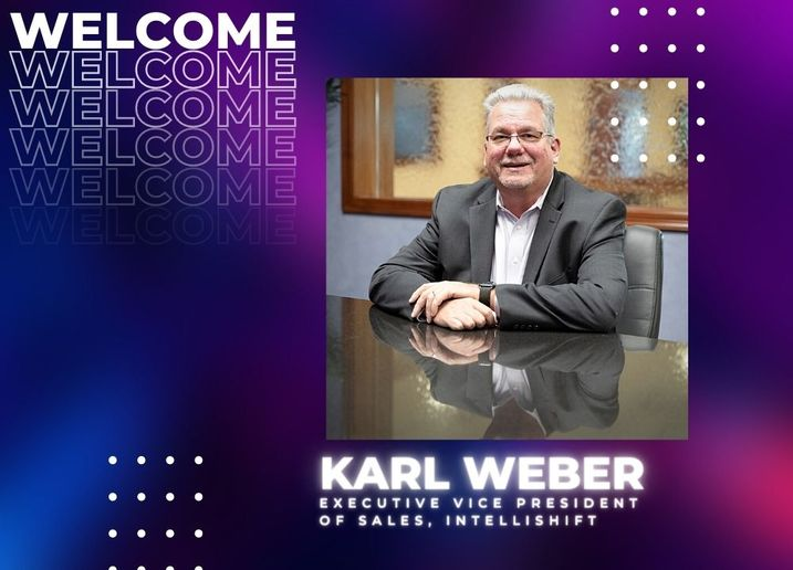 IntelliShift named Karl WeberExecutive Vice President of Sales in September 2021. - Photo: IntelliShift/Work Truck