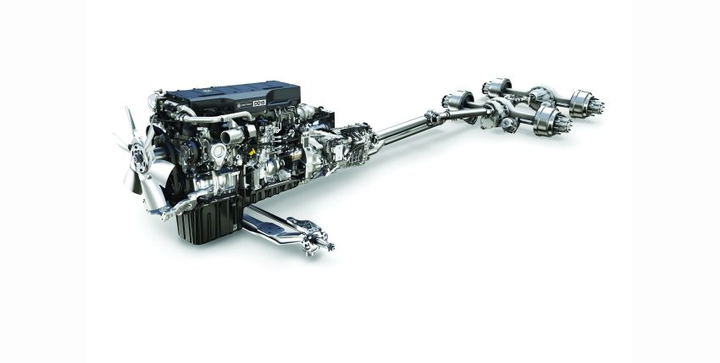 The rear-axle ratio also needs to be considered when selecting the right powertrain.  - Photo courtesy of DTNA