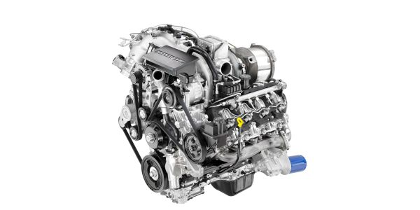 The all-new 6.6L gas engines for the Chevrolet Silverado HD feature direct-injection technology.