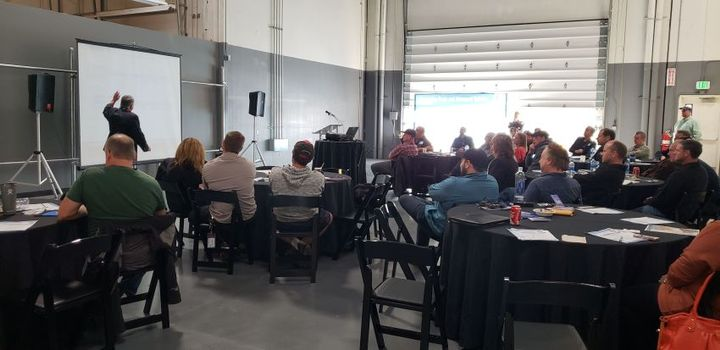 The Columbia-Willamette Clean Cities Coalition hosted around 40 people for its Propane Autogas Lunch & Learn in Wilsonville, Ore.