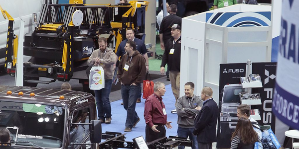 The Work Truck Show floor takes up more than 500,000 square feet and includes trucks, equipment,...