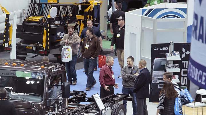 The Work Truck Show floor takes up more than 500,000 square feet and includes trucks, equipment, accessories, and more. 