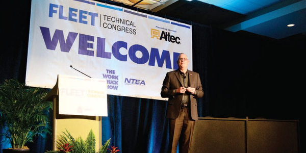 Ed Peper, U.S. Vice President of General Motors Fleet, gave the opening keynote address on the...