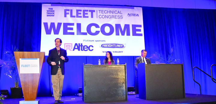 The Fleet Technical Congress returned for 2019 with industry leaders, suppliers, and fleet managers presenting on a wide range of topics.  - Photo courtesy of Roselynne Reyes