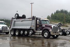 Construction Fleet Depends on Mack