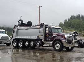 Today, Silver Streak employs more than 70 people and operates a fleet of nearly 60 trucks, the majority of which are Mack Granite models.