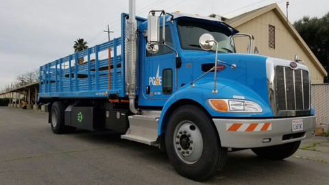 PG&E'shas 1,600 electrified units in its fleet, including hybrid-electric vehicles, plug-in...