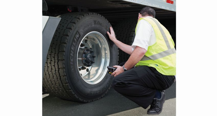 There are eight levels of inspections, including full (North American Standard Inspection), walk-around driver/vehicle, driver/credentials, special inspections as part of a study, vehicle-only, terminal, and radioactive materials, jurisdictional mandated, and electronic inspection.  - Photo courtesy of Michelin