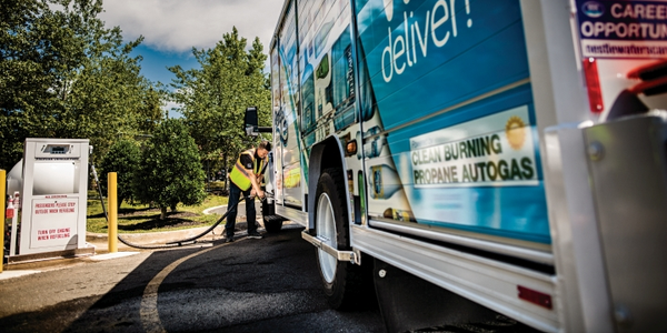Propane autogas is widely available across the U.S. with a large network of propane retailers...