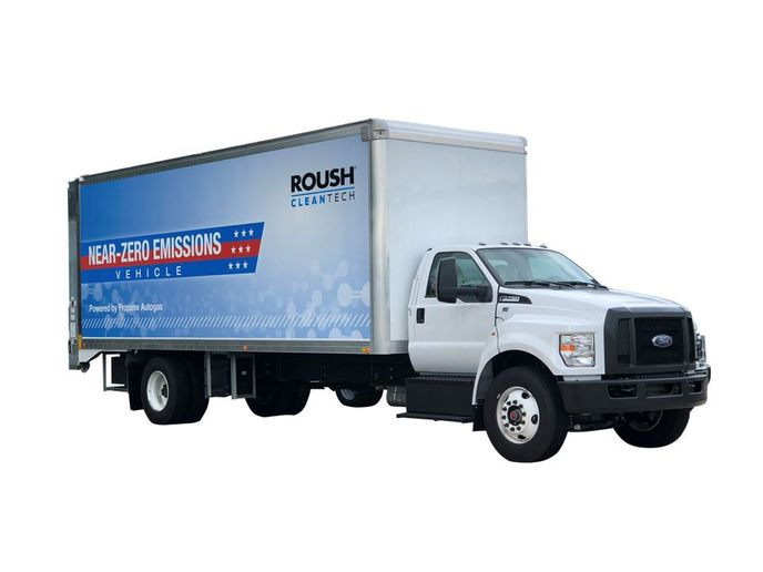 By fueling with propane, fleets can extend the fuel's positive impact on the environment while saving even more budget. - Photo: ROUSH CleanTech
