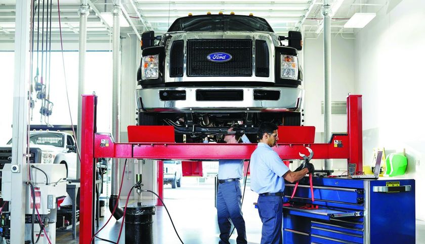 Taking special care to match the type of maintenance provided to the truck's application is a...