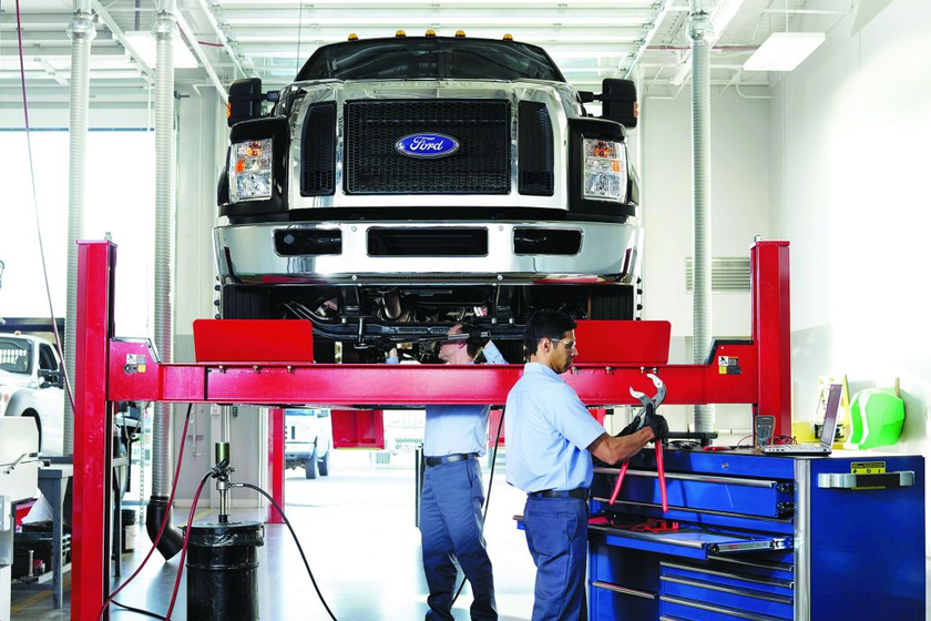 Taking special care to match the type of maintenance provided to the truck's applicationis a...