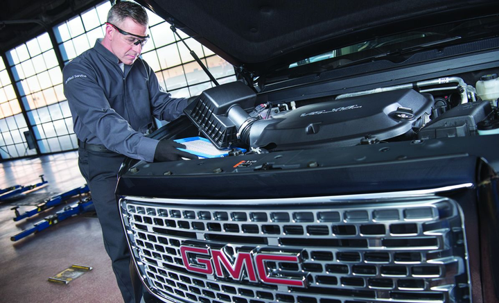 OEM parts & service programs help reduce maintenance-related downtime and offer trained and certified techs.  - Photo courtesy of GM