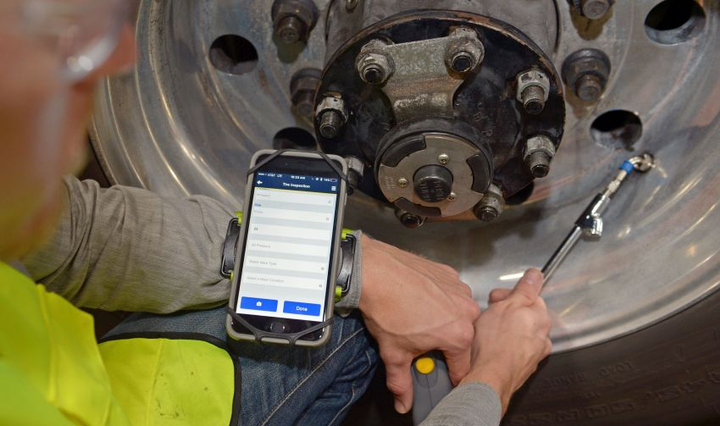 Ensuring proper tire maintenance is one way fleet managers can reduce replacement tire expenses, a large component of a fleet maintenance budget. 
