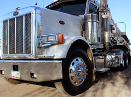 """Heavy-duty, Class 8 truck sales have been """"booming"""" with medium-duty truck orders continuing..."""