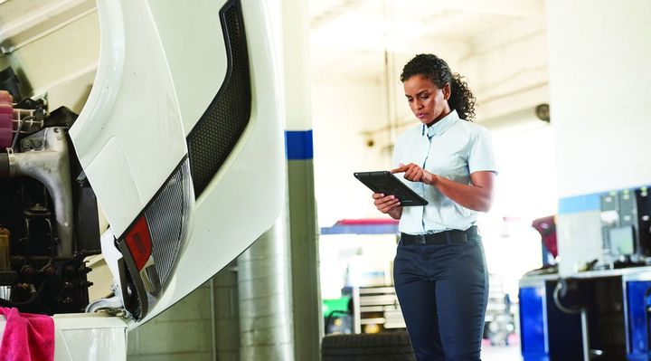 Maintaining assets proactively, not reactively, can reduce maintenance costs and asset downtime.  - Photo courtesy of Verizon Connect