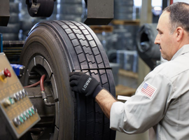 By managing a tire throughout its lifecycle – from selection to removal – fleet managers can make a big impact on the bottom line, all while making mobility more efficient for their fleet.