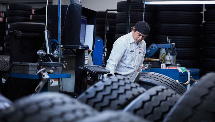 Tire selection with application and position in mind is particularly relevant today, as fleets are running heavier loads for longer hours of operation, according to Bridgestone.