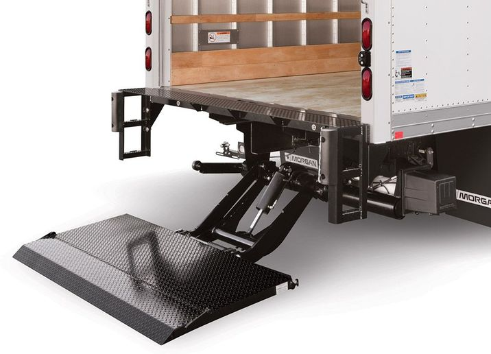 The challenge is specifying the right liftgate for each application. There are myriad specs to consider, with cost ranging from $2,000-$9,000, depending on the type of gate, platform size and material, power supply, and lifting capacity.