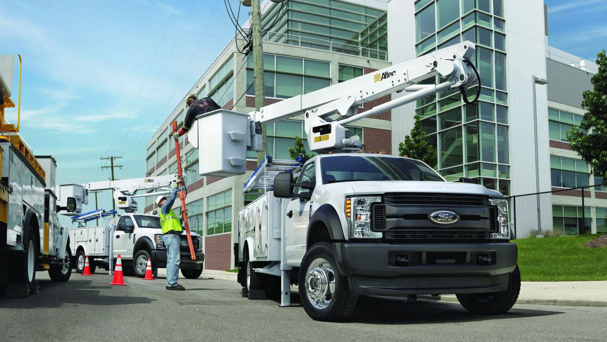 Ford F-550 Super Duty: Commercial Truck of the Year
