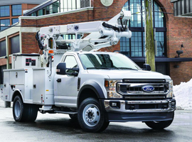 The 2020 Ford F-600 was unveiled atThe Work Truck Show 2019 in Indianapolis