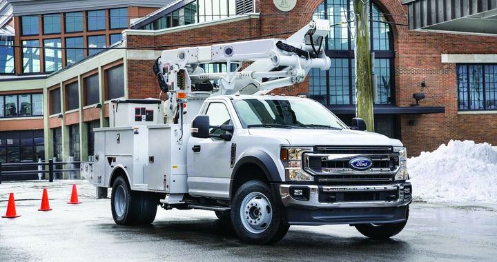 The 2020 Ford F-600 was unveiled atThe Work Truck Show 2019 in Indianapolis  - Photo courtesy of Ford