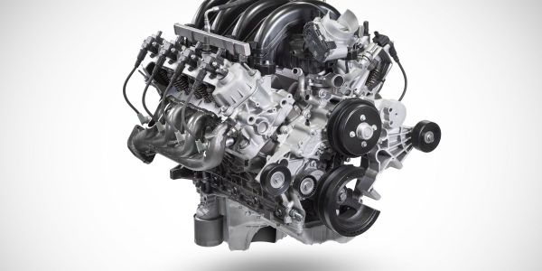 The big-block engine cranks out gas V-8 output of 430 hp at 5,500 rpm and torque of 475 lb.ft....