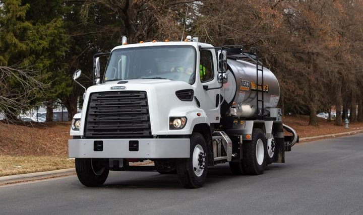 The Freightliner M2 106 is available with four engine options.  - Photo: Freightliner