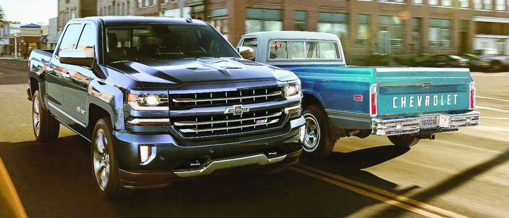 """Many companies that own equipment do not have a truck replacement strategy, nor the experience to efficiently sell their old equipment to maximize the residual value of older equipment getting updated. Unless your fleet wants the """"retro"""" look, be sure to set an optimal replacement strategy.  - Photo courtesy of General Motors."""