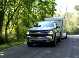 The 2019 Silverado 1500 offers a number of new towing features using driver assistance technology to make trailer hitching easier.