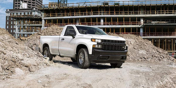 A new program from Merchants Fleet Management offers trucks such as the Chevrolet Silverado for...