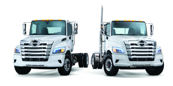 The Hino XL Series will be offered in a number of straight truck and tractor configurations.