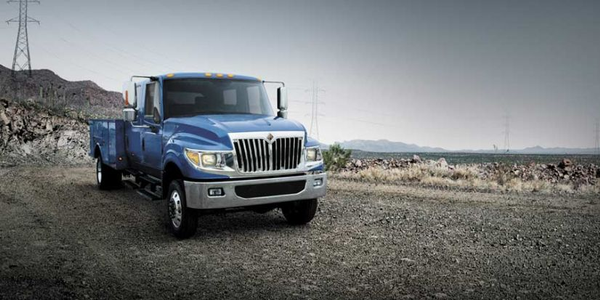 The 107-inch bumper to back-of-cab (BBC) and 44-foot curb-to-curb turning radius allow optimal...
