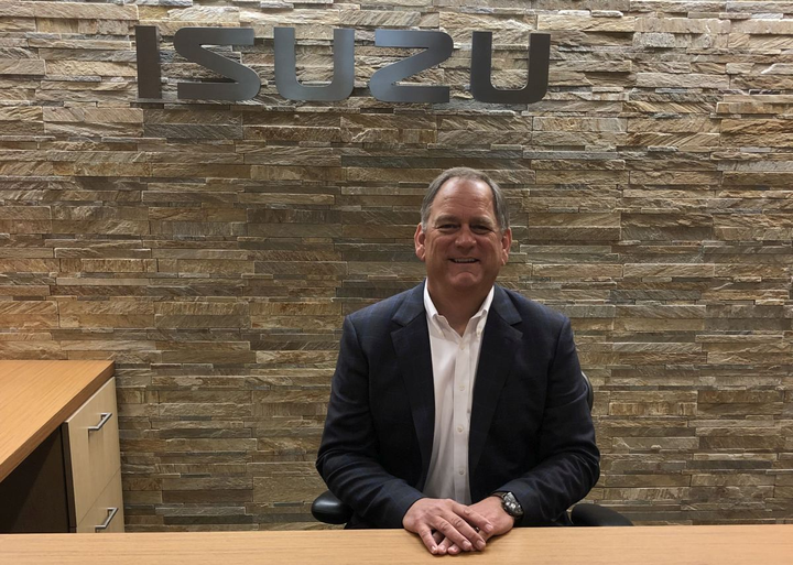 With more than three decades of experience with Isuzu, Shaun Skinner was named the first American president of Isuzu Commercial Truck of America in 2016. He is focusing on the future and continuing the company's record sales years. 